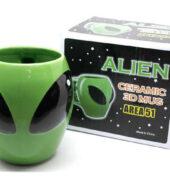 Taza en forma de Alien