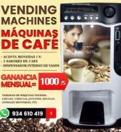 VENDING MACHINE, MAQUINAS DE CAFE