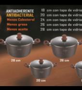 JUEGO DE 10 PIEZAS EN PIEDRA VOLCANICA VALESKA 10 PIEZAS