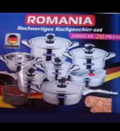 OLLAS ROMANIA 20 PIEZAS
